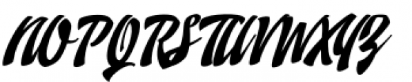 Doedel Standard Font UPPERCASE