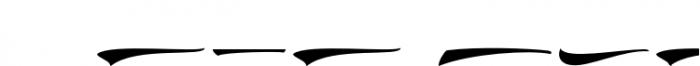 Doedel Swash Font OTHER CHARS