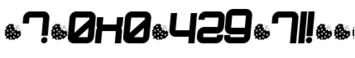 Dopenakedfoul Phat Relaxed Font OTHER CHARS