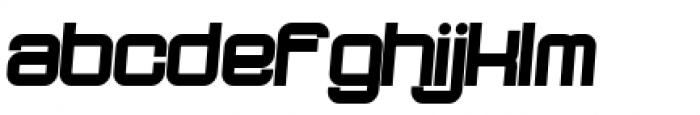 Dopenakedfoul Phat Relaxed Font LOWERCASE