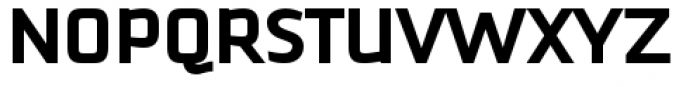 Downtempo Bold Font UPPERCASE