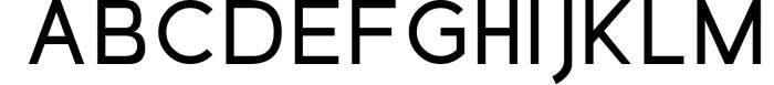 Dolgan Typeface Font UPPERCASE
