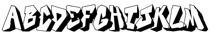 DOCALLISME ON STREET Font UPPERCASE