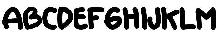 DORAEMON Font UPPERCASE