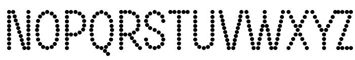 DOTCIRFUL Bold Font UPPERCASE