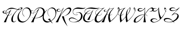 Dobkin Plain Font UPPERCASE
