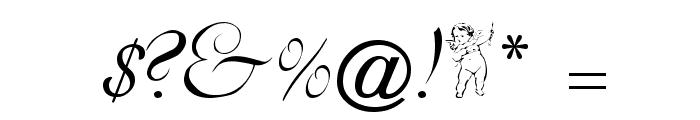 Dobkin Script Font OTHER CHARS
