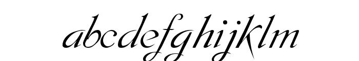 Dobkin Script Font LOWERCASE