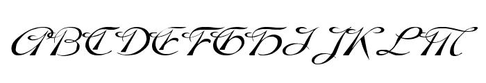 Dobkin Wd Plain Font UPPERCASE