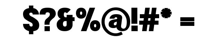 Doboto Black Font OTHER CHARS