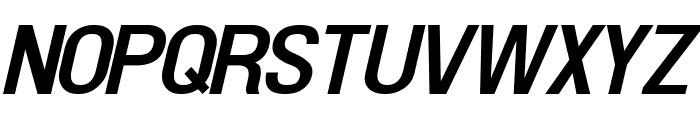 Doboto Bold Italic Font UPPERCASE