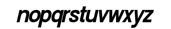 Doboto Bold Italic Font LOWERCASE