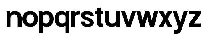 Doboto Bold Font LOWERCASE
