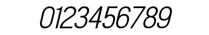 Doboto Light Italic Font OTHER CHARS