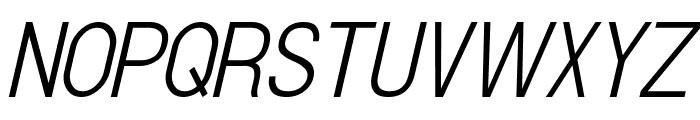Doboto Light Italic Font UPPERCASE