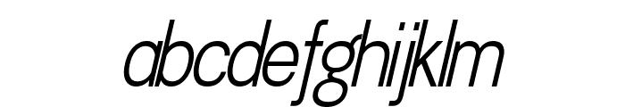 Doboto Light Italic Font LOWERCASE