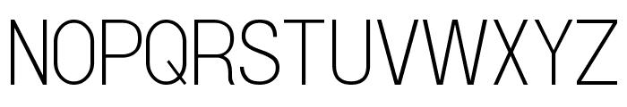 Doboto Thin Font UPPERCASE