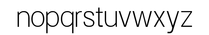 Doboto Thin Font LOWERCASE