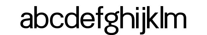 Doboto Font LOWERCASE