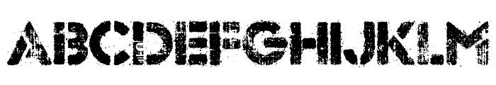 Dock 51 Font UPPERCASE