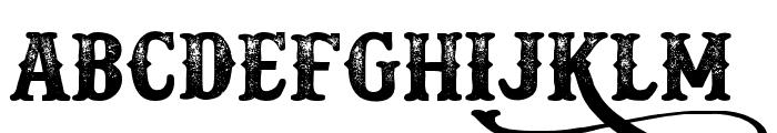 Docktrin Font UPPERCASE