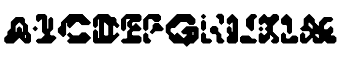 Doctor Morse Font UPPERCASE