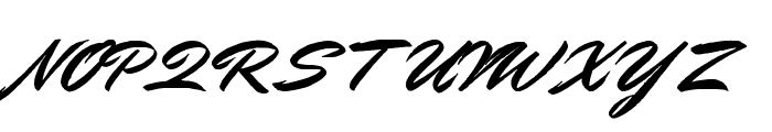 Doctor Russel Regular Font UPPERCASE