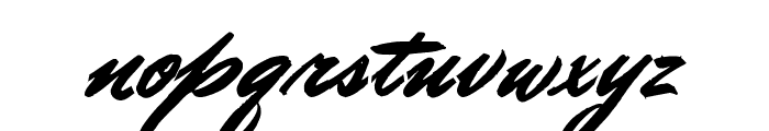 Doctor Russel Regular Font LOWERCASE