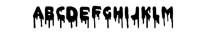 Doctor Satan Font LOWERCASE