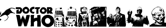 Doctor Who 2006 Font LOWERCASE