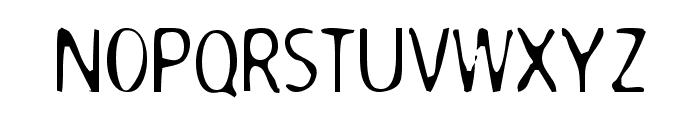 Dodgenburn Font UPPERCASE