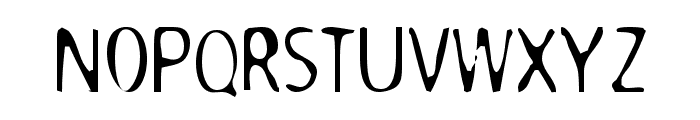 DodgenburnA Font UPPERCASE