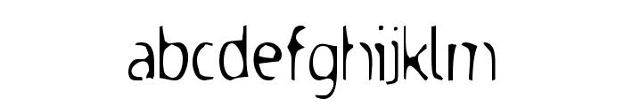 DodgenburnA Font LOWERCASE