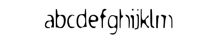 Dodgenburn Font LOWERCASE