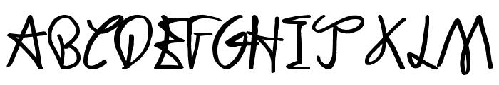 Dodger Gear Font UPPERCASE