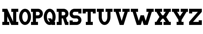 Doergon Font UPPERCASE