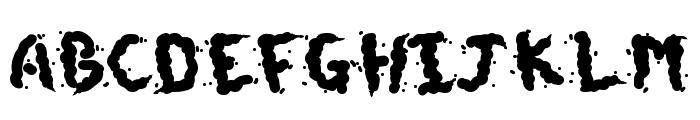 Doggie Doodie Font UPPERCASE