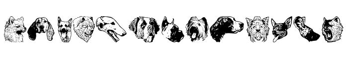DoggyPrint AOE Font LOWERCASE