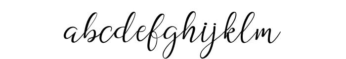 DogmaScript Font LOWERCASE
