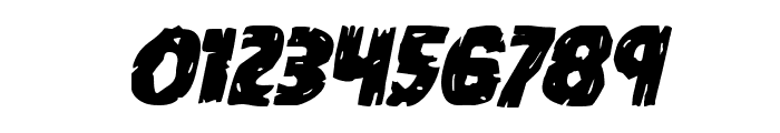 Dokter Monstro Italic Font OTHER CHARS