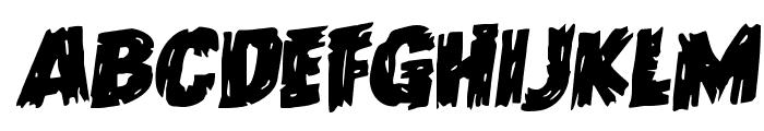 Dokter Monstro Rotalic Font LOWERCASE