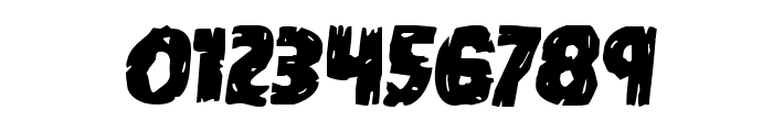 Dokter Monstro Semi-Italic Font OTHER CHARS