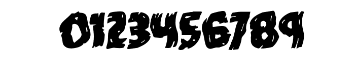 Dokter Monstro Warped Rotalic Font OTHER CHARS