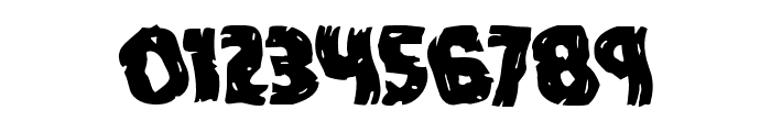Dokter Monstro Warped Font OTHER CHARS