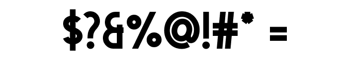 Dolce Vita Heavy Bold Font OTHER CHARS
