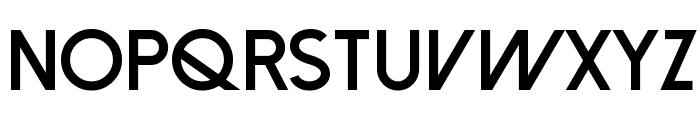 Dolce Vita Heavy Bold Font UPPERCASE