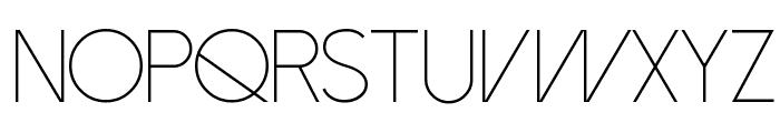 Dolce Vita Light Font UPPERCASE