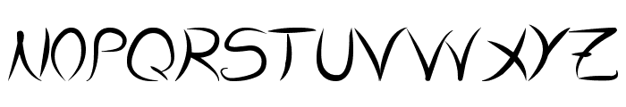 Dolgan Font UPPERCASE