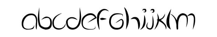 Dolgan Font LOWERCASE
