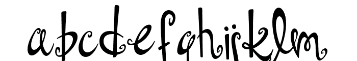 Dollhouse Font LOWERCASE